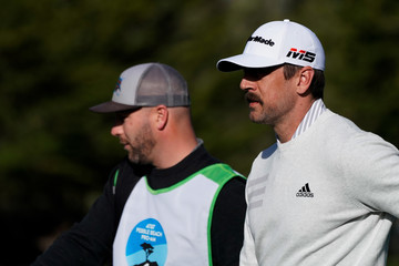 Aaron Rodgers AT&T Pebble Beach Pro-Am - Round One