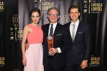 Aaron Tveit 32nd Annual Lucille Lortel Awards - Press Room