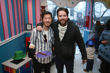 Aaron Yoo Dylan's Candy Bar And Milk + Bookies Partner For The NY Launch Of The 50th Anniversary Charlie And The Chocolate Factory Capsule Collection