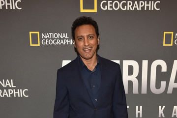 Aasif Mandvi National Geographic's 'America Inside Out With Katie Couric' Premiere Screening In NYC