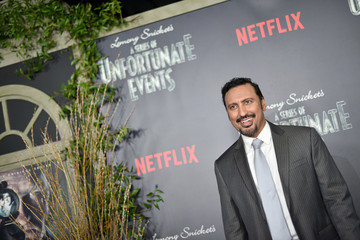 """Aasif Mandvi An Alternative View of 'Lemony Snicket's A Series of Unfortunate Events"""" Screening"""