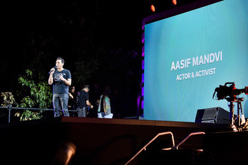 Aasif Mandvi 2019 Global Citizen Festival: Power The Movement – Onstage