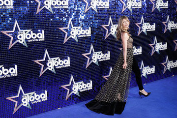 Abbey Clancy The Global Awards 2018 - Red Carpet Arrivals
