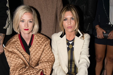 Abbey Clancy Day 3: Front Row & Celebrities - London Fashion Week SS15