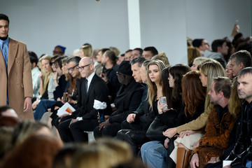 Abbey Lee Kershaw Calvin Klein Collection - Front Row - February 2017 - New York Fashion Week