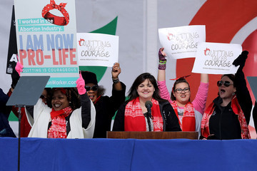Abby Johnson Annual March For Life Held In Washington DC