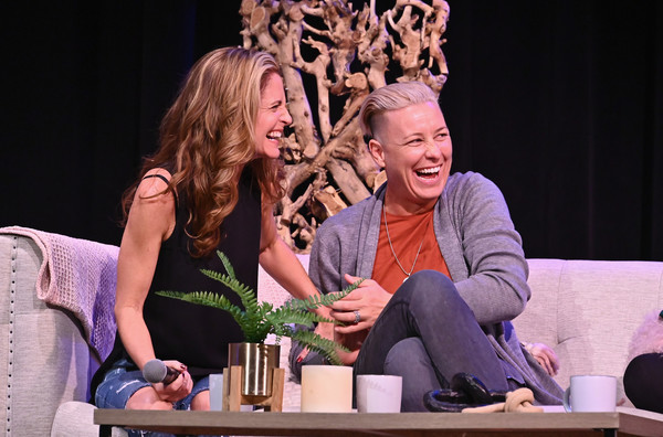 Together Live - New York City [heater,performance,event,performing arts,fun,drama,acting,scene,stage,leisure,stage,l-r,together live at town hall,new york city,abby wambach,glennon doyle]