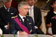 Prince Philippe of Belgium is seen inside the Abdication Ceremony Of King Albert II Of Belgium, & Inauguration Of King Philippe at the Royal Palace on July 21, 2013 in Brussels, Belgium.