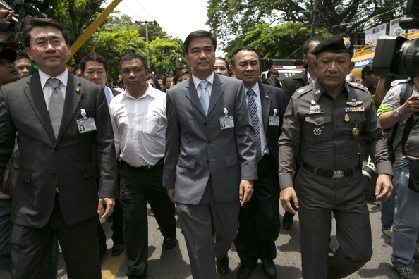 Thailand's Democratic Party Stages Rally