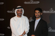 Mohammad Sultan Al Habtoor and Abdulla Al Kaabi (R) attend the Jaeger LeCoultre private gala dinner launch of the Rendez-Vous watch on day three of the Abu Dhabi Film Festival 2012 at Emirates Palace on October 12, 2012 in Abu Dhabi, United Arab Emirates.