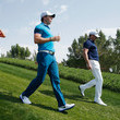 Victor Dubuisson and Rory McIlroy