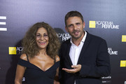Actor Luis Mottola and singer Lolita Flores attend the 'Academia del Perfume' awards 2017 at the Zarzuela Teather on May 22, 2017 in Madrid, Spain.