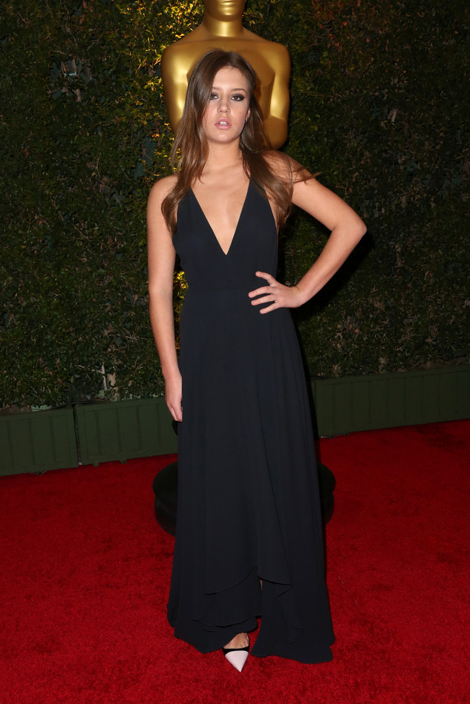 Actress Adèle Exarchopoulos arrives at the Academy of Motion Picture Arts and Sciences' Governors Awards at The Ray Dolby Ballroom at Hollywood & Highland Center on November 16, 2013 in Hollywood, California.
