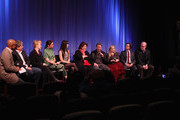 (L-R)Patrick Harrison, John Wells, Meryl Streep, Julianne Nicholson, Juliette Lewis, Margo Martindale,  Chris Cooper, Abigail Breslin, Dermont Mulroney and Tracy Letts attend The Academy of Motion Picture Arts and Sciences Hosts an Official Academy Members Screening of 'August: Osage County' on November 25, 2013 in New York City.