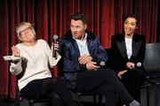 (L-R) Sarah Green, Joel Edgerton and Ruth Negga attend an official Academy Screening of LOVING hosted by the Academy of Motion Picture Arts and Sciences on October 27, 2016 in New York City.