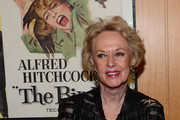 """Actress Tippi Hedren attends the Acadmy of Motion Pictures Arts and Sciences' Screening of """"The Birds"""" at AMPAS Samuel Goldwyn Theater on October 23, 2012 in Beverly Hills, California."""