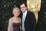 Actress Tippi Hedren and TV personality Ben Mankiewicz arrives to The Academy of Motion Picture Arts and Sciences' tribute to Sophia Loren on May 4, 2011 in Beverly Hills, California.