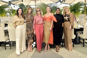 Zoe de Givenchy, Jennifer Flavin Stallone, Dawn Hudson, Elizabeth Chambers, Nicole Avant and  Irena Medavoy attend Academy Museum of Motion Pictures Luminaries Luncheon Supported by JP Morgan Chase & Co at Academy Museum of Motion Pictures on January 28, 2020 in Los Angeles, California.