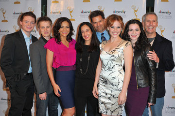 "Constance Marie Katie Leclerc The Academy Of Television Arts & Sciences Diversity Committee & ABC Family Presents ""Switched At Birth"""