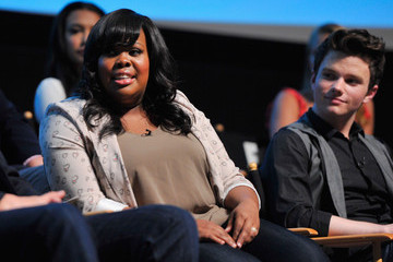 """Amber Riley Chris Colfer The Academy Of Television Arts & Sciences' Screening Of Fox's """"Glee"""""""