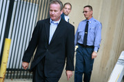 Michael David Barrett leaves the Metropolitan Correctional Center after posting bond on October 5, 2009 in Chicago, Illinois.  Barrett has been accused of stalking, and tampering with the hotel peephole to allow him to videotape ESPN reporter Erin Andrews naked in her hotel room.