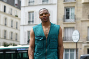 Russell Westbrook attends the Acne Studios Menswear Spring Summer 2020 show as part of Paris Fashion Week on June 19, 2019 in Paris, France.