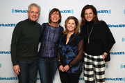 "(L-R) Actor Kyle MacLachlan, SiriusXM hosts Nina Easton and Pattie Sellers talk with Desiree Gruber during SiriusXM's ""Making a Leader"" series at SiriusXM Studios on March 01, 2019 in New York City."