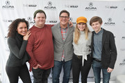 The cast of 'Summer of 84' attends the Acura Studio at Sundance Film Festival 2018 on January 23, 2018 in Park City, Utah.