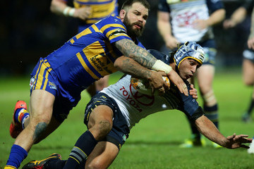 Adam Cuthbertson Leeds Rhinos v North Queensland Cowboys - World Club Series