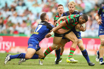 Adam Elliott NRL Rd 4 - Rabbitohs v Bulldogs