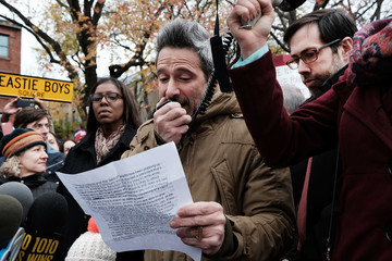 Adam Horovitz Activists Protest Racism and Hate in Brooklyn