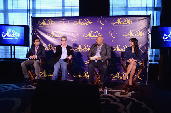 """Aladdin"" Broadway Cast And Creative Team Press Preview"