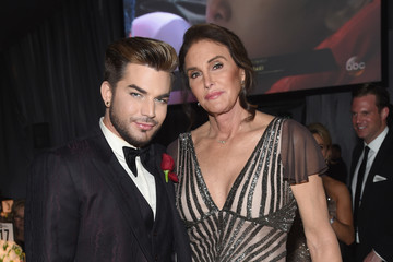 Adam Lambert 25th Annual Elton John AIDS Foundation's Oscar Viewing Party - Inside