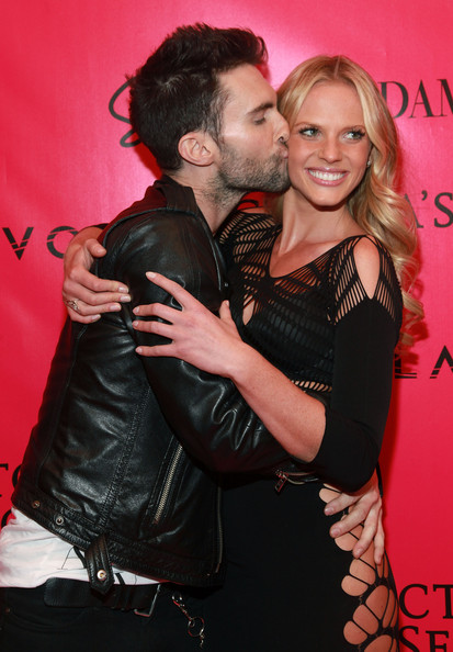 Adam Levine and Anne V - 2010 Victoria's Secret Fashion Show - After Party