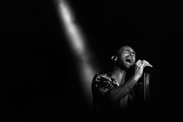 Adam Levine Singapore Grand Prix - Live Performances