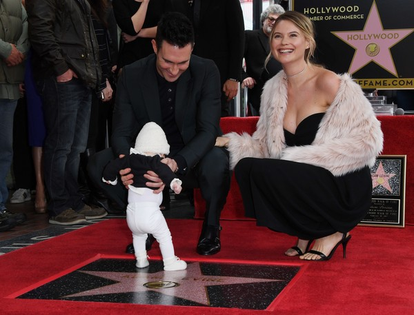 Adam Levine S Walk Of Fame Ceremony Was An Adorable Family