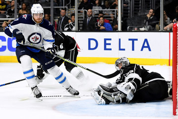 Adam Lowry Winnipeg Jets v Los Angeles Kings