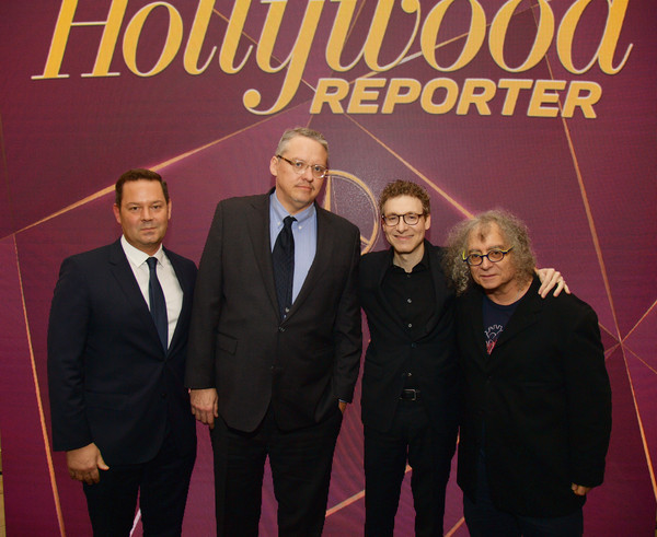 The Hollywood Reporter's 7th Annual Nominees Night Presented by Mercedes-Benz, Century Plaza Residences, and Heineken USA - Inside [the hollywood reporter,event,album cover,company,suit,premiere,brand,nominees,nicholas britell,adam mckay,kevin j. messick,century plaza residences,mercedes-benz,hollywood reporter,heineken,usa - inside]