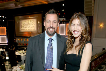 Adam Sandler Jackie Sandler AARP The Magazine's 19th Annual Movies For Grownups Awards - Arrivals And Awards Presentation