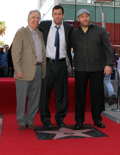 Adam Sandler Honored On The Hollywood Walk Of Fame