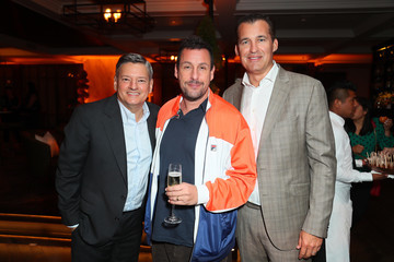 Adam Sandler Ted Sarandos L.A. Premiere Of Netflix's 'Murder Mystery' - After Party