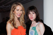 Miss USA 2015 Olivia Jordan and model Hari Nef attend the Adam Selman fashion show during Fall 2016 MADE Fashion Week at Milk Studios on February 11, 2016 in New York City.