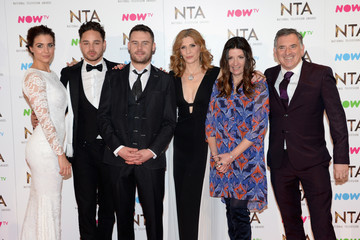 Adam Thomas National Television Awards - Winners Room