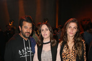 (L-R) Ali Fatourechi, Tania Fares, and Elisa Sednaoui attend Adaptation x Maxfield SS18 collection Launch at Maxfield on February 1, 2018 in Los Angeles, California.