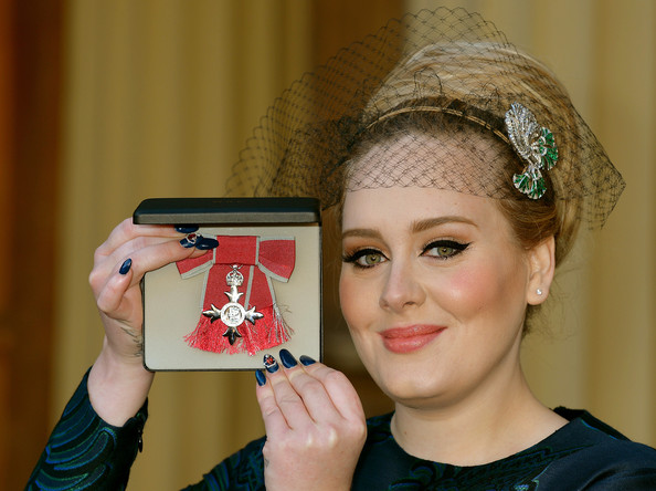 Adele's Nail Art Just Proves She's the Actually the Coolest Person