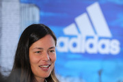 Ana Ivanovic of Serbia talks to the media during the adidas ACE Case Launch at Crown Entertainment Complex on January 14, 2016 in Melbourne, Australia.