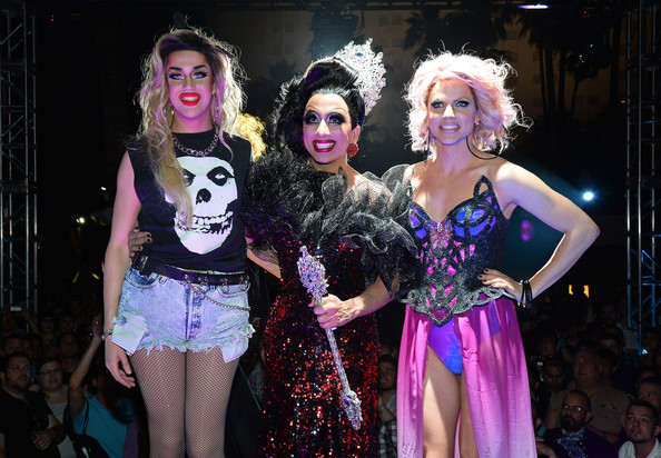 'RuPaul's Drag Race' Season 6 Finale [rupauls drag race,performance,fashion,event,performance art,performing arts,fun,musical theatre,musical,fashion design,stage,adore delano,cast members,winner,runners-up,new tropicana las vegas,l-r,season six finale,season,finale]
