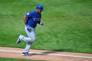 Adrian Beltre Texas Rangers v Milwaukee Brewers