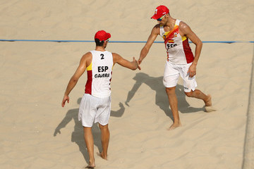 Adrian Gavira Collado Beach Volleyball - Olympics: Day 3