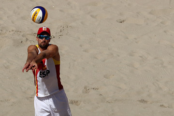 Adrian Gavira Collado Beach Volleyball - Olympics: Day 8